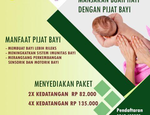 Layanan Paket Pijat Bayi