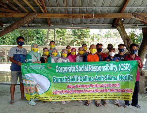 CSR Pembagian Bantuan Sembako