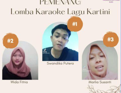 Pengumuman Pemenang Lomba Karaoke Lagu Kartini