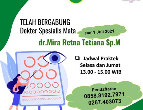 Dokter Spesialis Mata RSDA