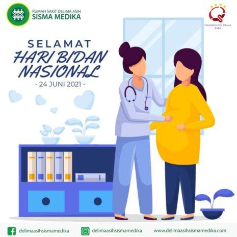 Semoga bidan senantiasa menjadi ujung tombak pelayanan kesehatan ibu & anak diberbagai penjuru Indonesia. Selamat Hari Bidan Nasional.
