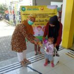 Pengenalan Poli Anak & Pembagian Masker dalam Rangka HAN 2021-1