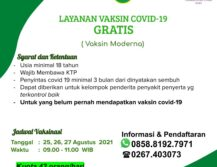 Layanan Vaksin Covid-19 Moderna