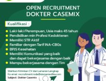 Lowongan Kerja Dokter Casemix