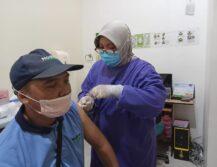 Vaksinasi Kedua PT Noahtex